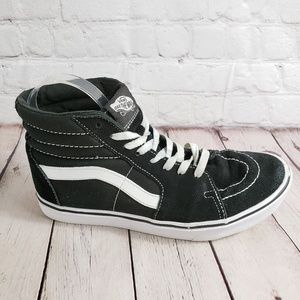 Vans HiTop Skate Shoes Womens 9.5 Mens 8 Sneakers